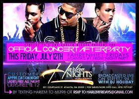 Ladies Free all night Friday at Harlem Nights w RSVP Co...