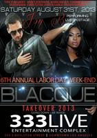 THE BLACQUE TAKEOVER 2013 FEATURING JON B.
