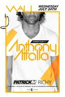 ANTHONY ATTALLA @ WALL Alongside PATRICK M & RICHY ✦...