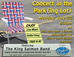 Concert in the Park(ing Lot)