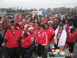 Atlanta Falcons Tailgate Party in Charlotte