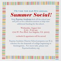 5th Annual Equitas Academy Summer Social!