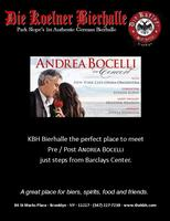 Andrea Bocelli at the Barclays Center