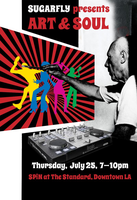 Picasso, Live Soul Music and Dancers Mix at Chic 70s...
