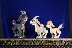 Great Arizona Puppet Theater: Three Billy Goats Gruff