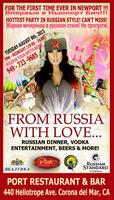"""""""From Russia with Love"""""""
