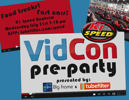 The VidCon Pre-Party Hosted by Tubefilter and Big Frame