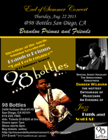 Saxophonist Brandon Primus and Friends-End of Summer...