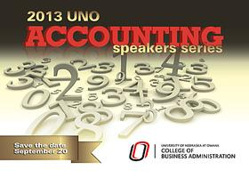 2013 UNO Accounting Speakers Series
