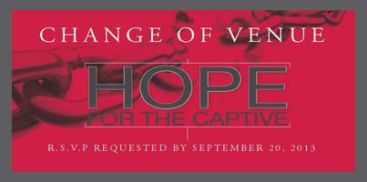 Hope for the Captive - Annual Banquet