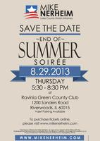 End of Summer Soiree with Mike Nerheim