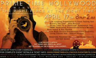 PRIME TIME HOLLYWOOD @ Winstons Supperclub