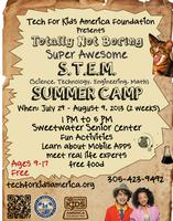 Totally Not Boring, Super Awesome STEM Summer Camp...