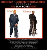 THE SAXY BONE JAZZ EVENT FEATURING BUFF DILLARD AND SHA...
