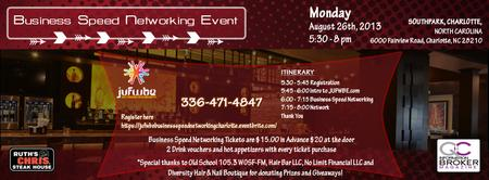 JUFWBE Business Speed Networking Charlotte