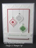 2013 Christmas Card Stamp-a-Stacks
