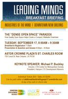 2013 Leading Minds Breakfast Series - Presented by...