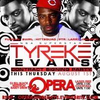 TYREKE'S NBA Signing Party   8.1.13   Live on Hot 107.9