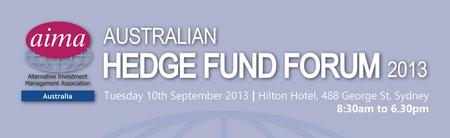 AIMA Australia Hedge Fund Forum 2013