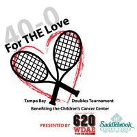 For THE Love Tampa Bay Doubles Tournament for the...
