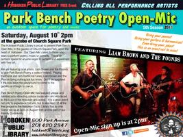 Park Bench Open-Mic Featuring Liam Brown and the Pounds
