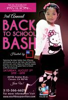 3rd Annual Back to School Bash