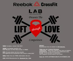 A Charity Event - The LIFT through LOVE Competition
