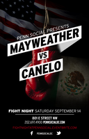 Fight Night at Penn Social: Mayweather vs Canelo