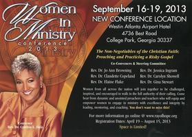 Women in Ministry Conference 2013