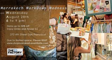 Women's Shopping Event: Marrakesh Markdown Madness