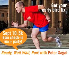 """Ready, Wait Wait, Go!"" with Peter Sagal"