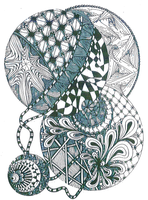 Zentangle with Debbie Perdue (Afternoon)