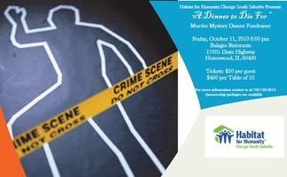 "Habitat ""A Dinner to Die For""  Murder Mystery Dinner..."
