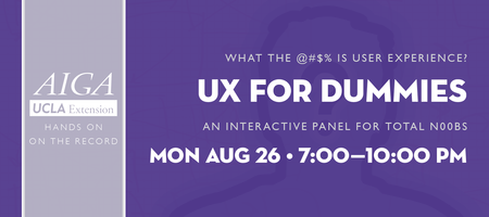 UX for Dummies: An Interactive Panel for Total N00bs