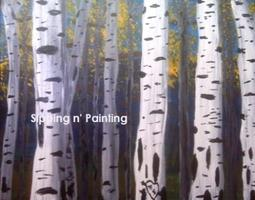 Sip N' Paint Aspens: Sunday October 27th, 5pm