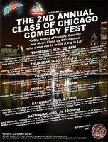 2nd Annual Class of Chicago Comedy Festival: August...