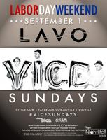 VICE Sundays @ Lavo - Labor Day Weekend