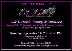 1st Annual L.I.F.T. Awards Ceremony