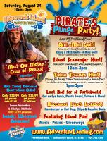 Pirate's Plunge Party at Shipwreck Island Waterpark!