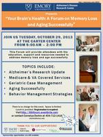 Emory Alzheimer's Disease Research Center 6th Forum