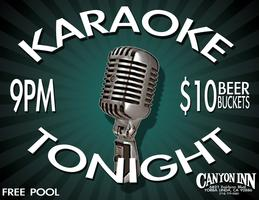 NAMM Wednesday Night Karaoke Party @ The Canyon Inn...