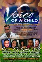 """""""Voice of A Child"""" 50% off Tix with Promocode RandJ"""