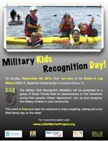 MILITARY KIDS RECOGNITION BAY DAY