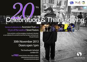 20 Years Celebration & Thanksgiving