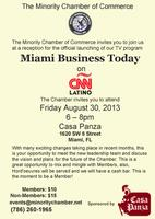 Miami Business Today on CNN Latino Launch Party Hosted ...