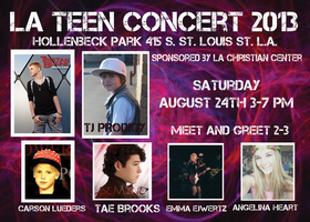 Los Angeles Teen Outreach Concert