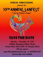 10th Annual Sanfest- African Ambassadors