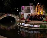 Holiday River Parade & Lighting at Hyatt Regency San...