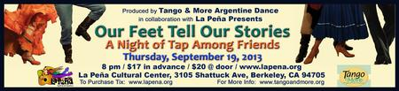 Our Feet Tell Our Stories: A Night of Tap Among...