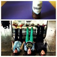 Do some yoga. Drink some beer.